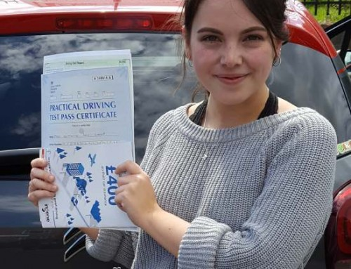 Katherine Everett Passes 1st time | Driving lessons in Northampton | 14-06-2018