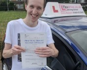 Driving Lessons Wellingborough | Kevin Baker passed 1st time with Flexdrive Driving School