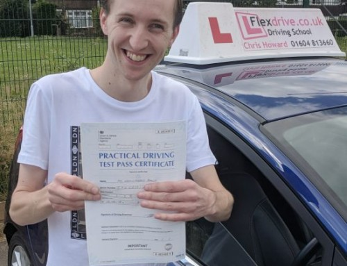 Kevin Baker passes 1st Time | 3 Driving Faults | Driving Lessons in Wellingborough | 14-06-2018