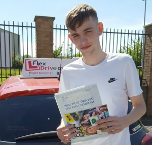 Driving Lessons Northampton | Luke passed 1st time with Flexdrive Driving School