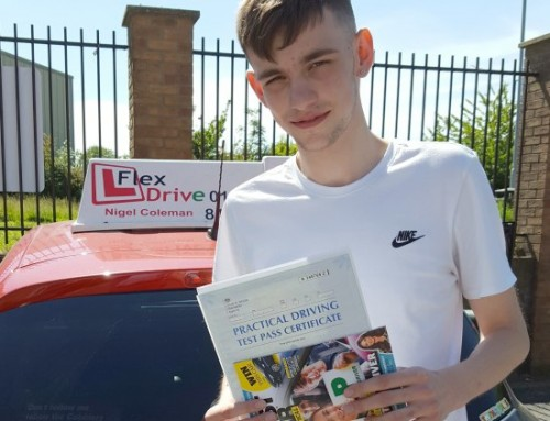 Luke Osborne Passes 1st time | Driving lessons in Northampton | 12-06-2018