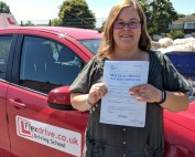Automatic Driving Lessons Wellingborough | Sarah passed 1st time with Flexdrive Driving School