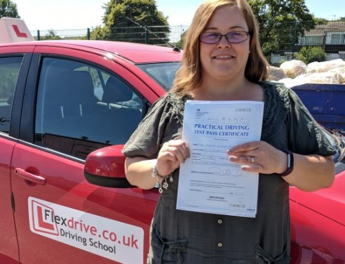 Sarah Filburn Passes 1st time | 0 Driving Faults | Automatic Driving Lessons in Wellingborough | 05-07-2018