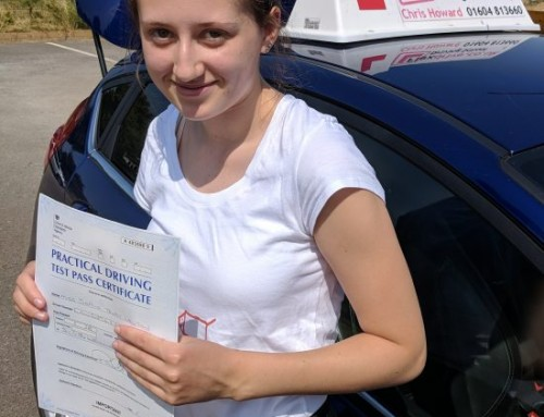 Sophie Lawson Passes 1st time | 1 Driving Fault | Driving lessons in Wellingborough | 05-07-2018