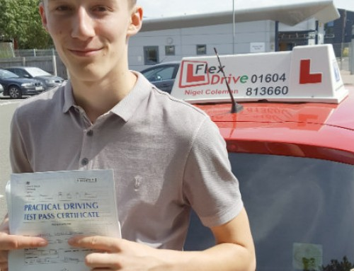 Harvey Bolwell Passes 1st Time | Driving lessons in Wellingborough & Kettering | 07-08-2018