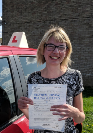 Automatic Driving Lessons Wellingborough | Hayley passed 1st time with Flexdrive Driving School