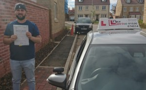 Automatic Driving Lessons in Kettering | Sergiu Passed with 0 Faults
