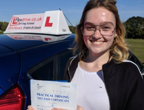 Amelia Austin Passes 1st time | 0 Driving Faults | Driving Lessons in Wellingborough | 13-09-2018