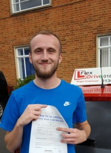 Driving Lessons Northampton | Cam Passed with Flexdrive Driving School