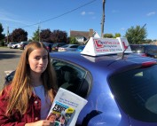 Driving Lessons Kettering | Emma passed 1st time with Flexdrive driving School