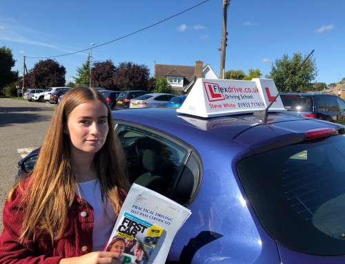 Emma Johnson Passes 1st time | 3 Driving Faults | Driving Lessons in Kettering | 13-09-2018