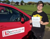 Automatic Driving Lessons Wellingborough | Sammy passed 1st time with Flexdrive Driving School