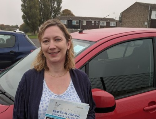 Celandine Handcock Passes 1st time | Automatic Driving Lessons in Wellingborough | 04-10-2018