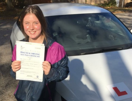 Storme OHara Passes | Driving Lessons in Bedford | 26-10-2018