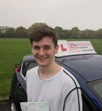 Driving Lessons In Wellingborough | Tom passed 1st time with Flexdrive.Driving School