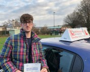 Driving Lessons in Kettering | Alex passed 1st time with Flexdrive Driving School
