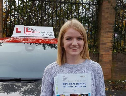 Driving lessons in Northampton | Testimonial | Amy Rowntree