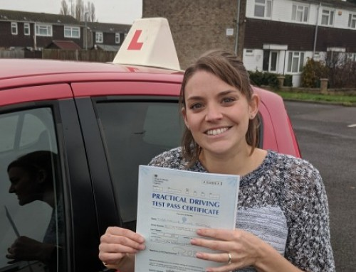 Hollie Ripley Passes 1st time | 2 Driving Faults | Automatic Driving Lessons in Wellingborough | 15-11-2018