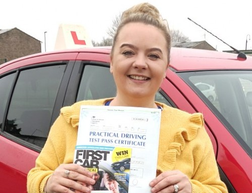 Clare Brown Passes 1st time | 2 Driving Faults | Automatic Driving Lessons in Wellingborough | 22-11-2018