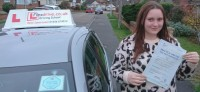 Automatic Driving Lessons in Wellingborough | Amy passed with Flexdrive Driving School