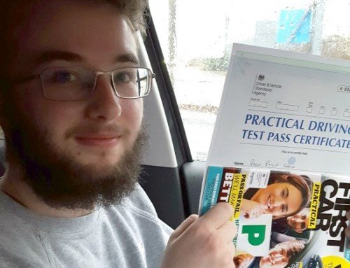 Ben Shaw Passes | 3 Driving Faults | Driving lessons in Northampton | 05-12-2018