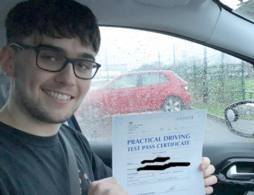Harry Cameron Passes 1st time | Driving lessons in Wellingborough | 20-12-2017