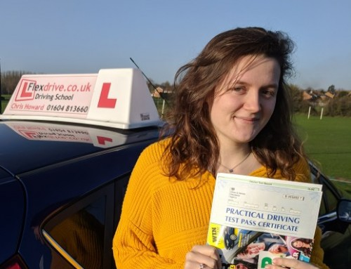 Nat Banyard Passes 1st time | 2 Driving Faults | Driving Lessons in Wellingborough and Northampton | 11-12-2018
