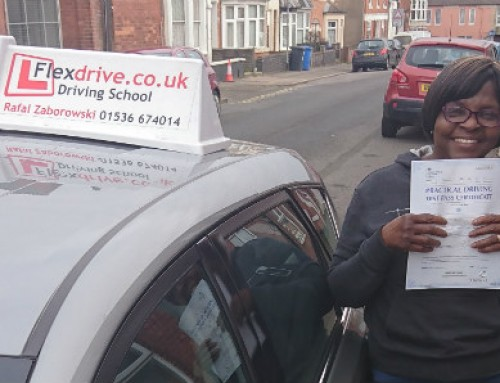 Justina Nnoli Passes | Automatic Driving Lessons in Kettering and Corby | 11-01-2019