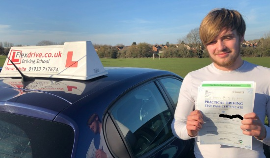 Driving Lessons in Wellingborough   Jude passed with Flexdrive Driving School