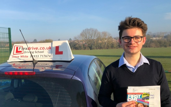 Driving Lessons in Wellingborough   Kordia passed 1st time with Flexdrive Driving School