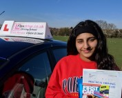 Driving Lessons Wellingborough | Sukhi passed with Flexdrive Driving School