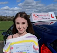 Driving Lessons in Wellingborough | Ellie passed with Flexdrive Driving School