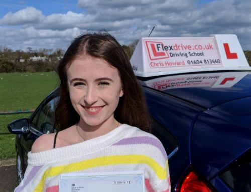 Eleanor Holmes Passes 1st time | 0 Driving Faults | Driving lessons in Wellingborough | 05-03-2019