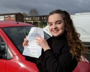 Driving Lessons in Wellingborough | Martha Morris passed 1st time with Flexdrive Driving School