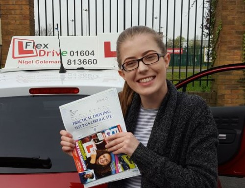 Courtney Gaffney-Pritchard Passes 1st time | Driving lessons in Northampton | 23-04-2019