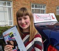 Driving Lessons in Northampton | Lola passed 1st time with Flexdrive Driving School