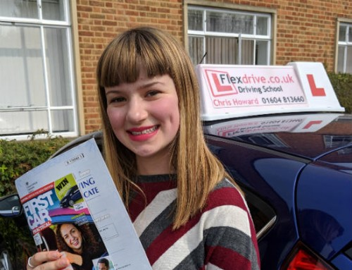 Lola Fletcher Passes 1st time | 2 Driving Faults | Driving lessons in Northampton | 17-04-2019