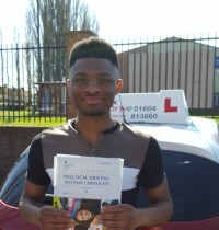 Driving Lessons in Northampton | Omar passed with Flexdrive Driving School