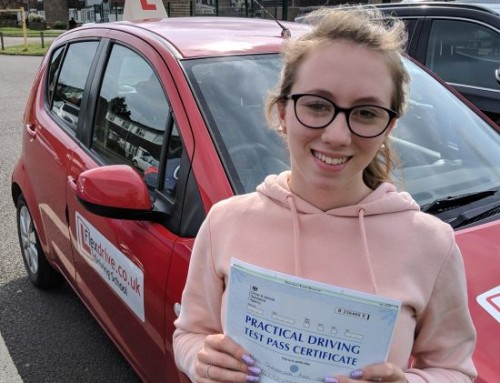 Sam Gadd Passes | Automatic Driving lessons in Wellingborough | 09-04-2019
