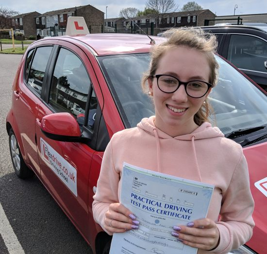 Automatic Driving Lessons in Wellingborough | Sam passed with Flexdrive Driving School
