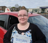 Automatic Driving Lessons Wellingborough | Shannon passed with Flexdrive Driving School