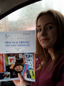 Driving Lessons in Northampton | Annie passed with Flexdrive driving School