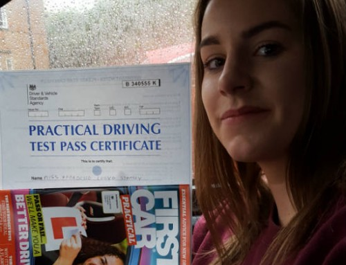 Annie Stanley Passes 1st time | Driving lessons in Northampton | 08-05-2019