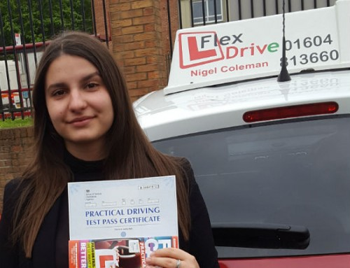 Delia Zamfir Passes 1st time | Driving lessons in Northampton | 09-05-2019
