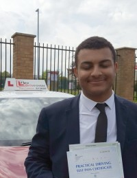 Driving Lessons in Northampton | Lorenzo passed with Flexdrive Driving School