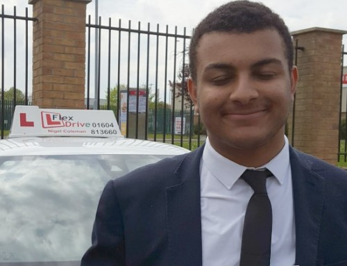Lorenzo Saroli Passes 1st Time | Driving lessons in Northampton | 07-05-2019