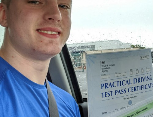 Adam Murray Passes | 2 Driving Faults | Automatic Driving lessons in Wellingborough | 04-06-2019