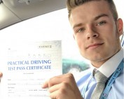 Driving Lessons Wellingborough | Lewis passed with Flexdrive Driving School