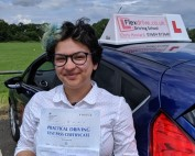 Driving Lessons in Wellingborough | Anna passes 1st time with Flexdrive Driving School