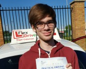 Driving Lessons in Wellingborough | James passed 1st time with Flexdrive driving Lessons